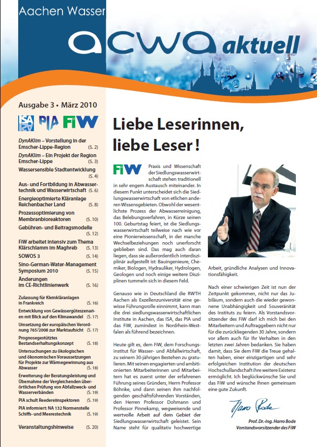 acwa 3 Newsletter Cover