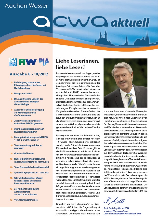 acwa 8 Newsletter Cover